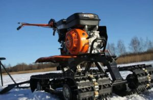 Снегоход на мотоблок СП-МБ-ПД