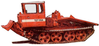 Обзор трелевочного трактора ТДТ-55. Характеристики модели, видео работы, отзывы