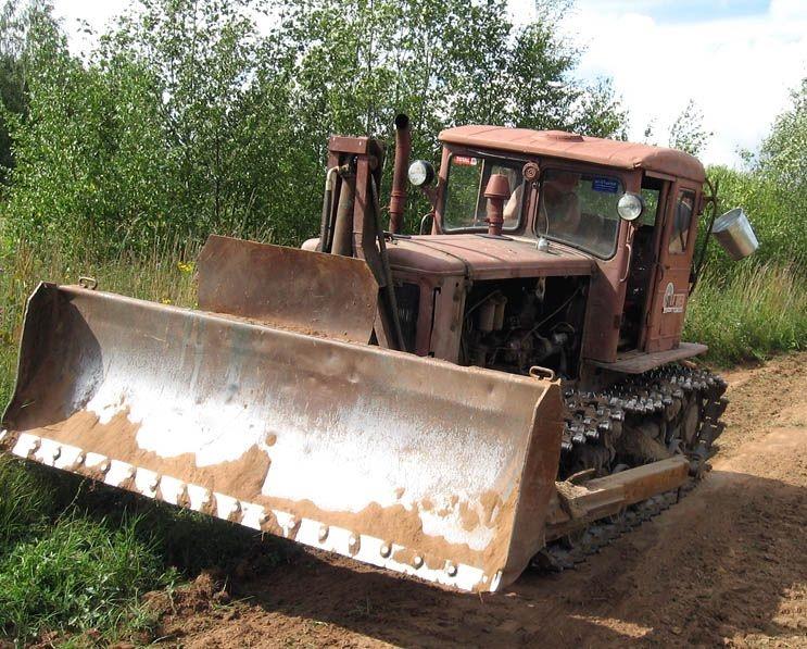 Трактор Т-74