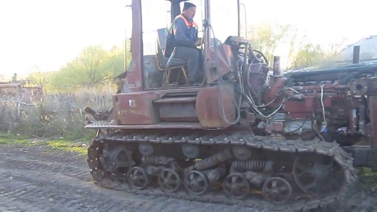 Т-95. гусеничный трактор