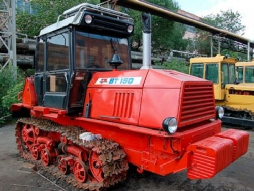 Обзор трактора ВТ-150. Характеристики, видео работы и отзывы