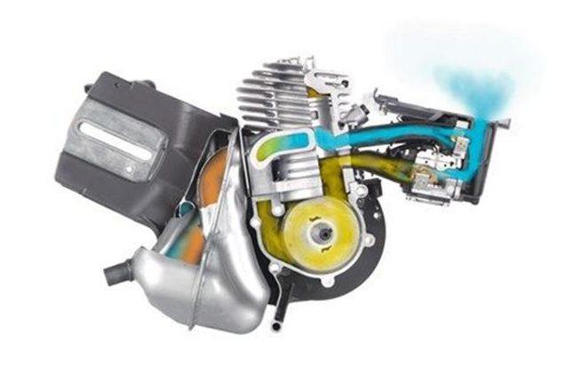 Двигатель внутреннего сгорания с уникальной системой X-Torq