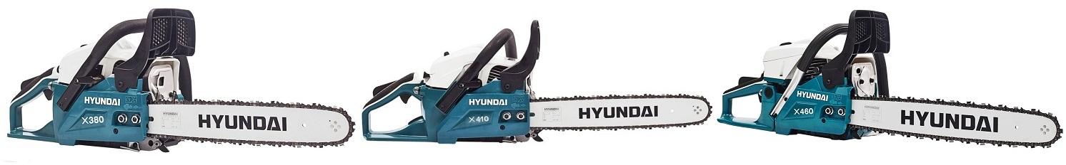 Бензопилы Hyundai