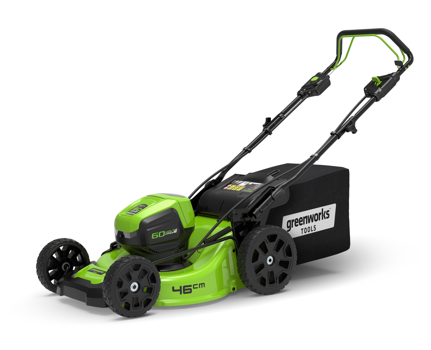 Газонокосилка GreenWorks GD60LM46SP