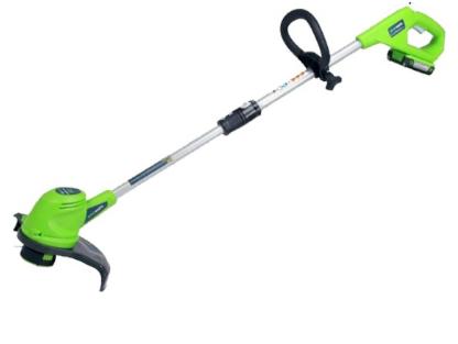 Аккумуляторный триммер Greenworks Basic G24LT30 2100107