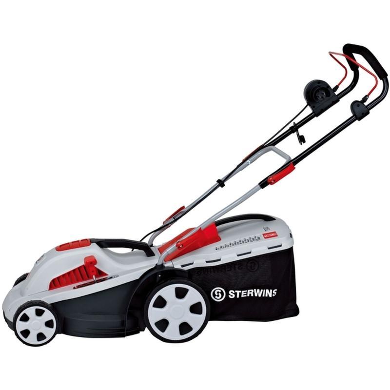 Газонокосилка электрическая Sterwins 340-EP 1400 Вт