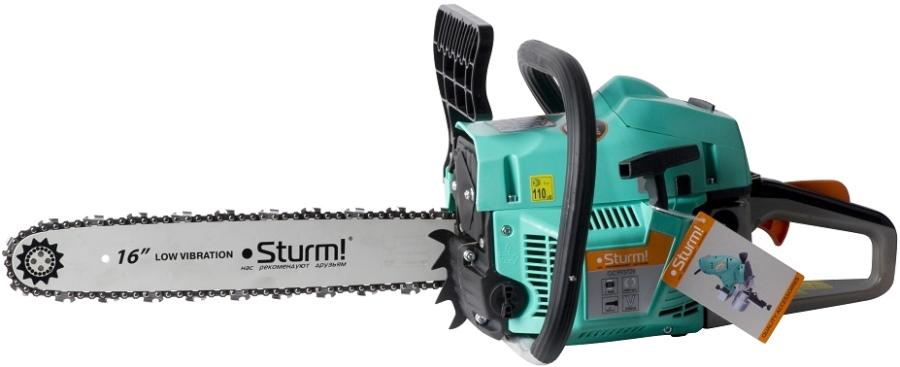 Бензиновая цепная пила Sturm gc99372b