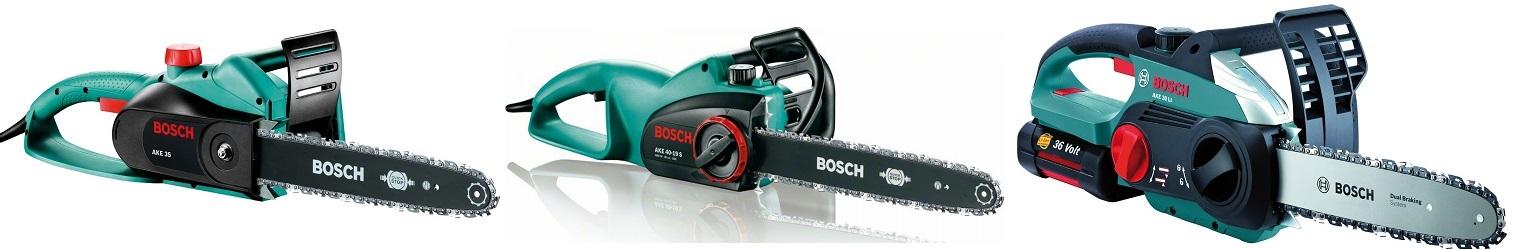 Элеткропилы Bosch