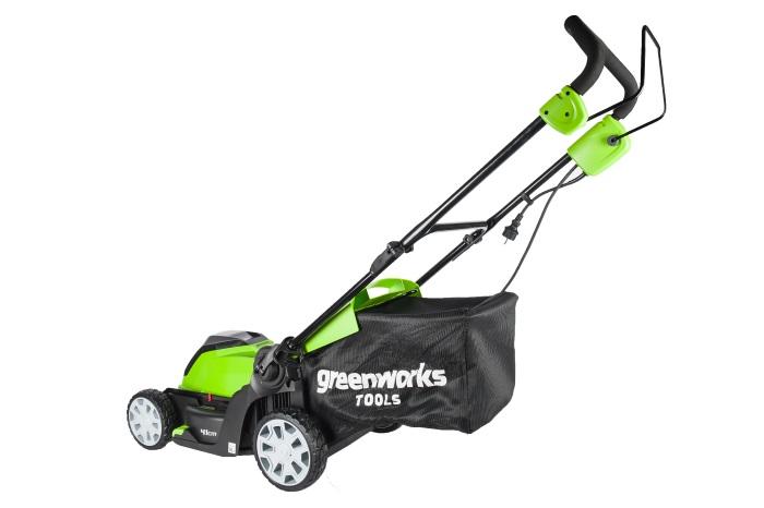 Электрический проводной снегоуборщик Greenworks 1200W