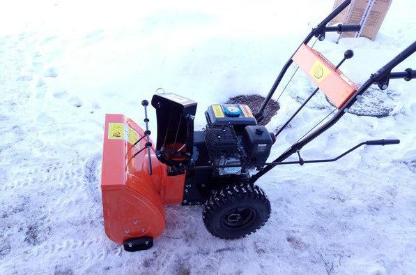 """Самоходная снегоочистительная машина """"Рысь"""" SM 7,0 B"""