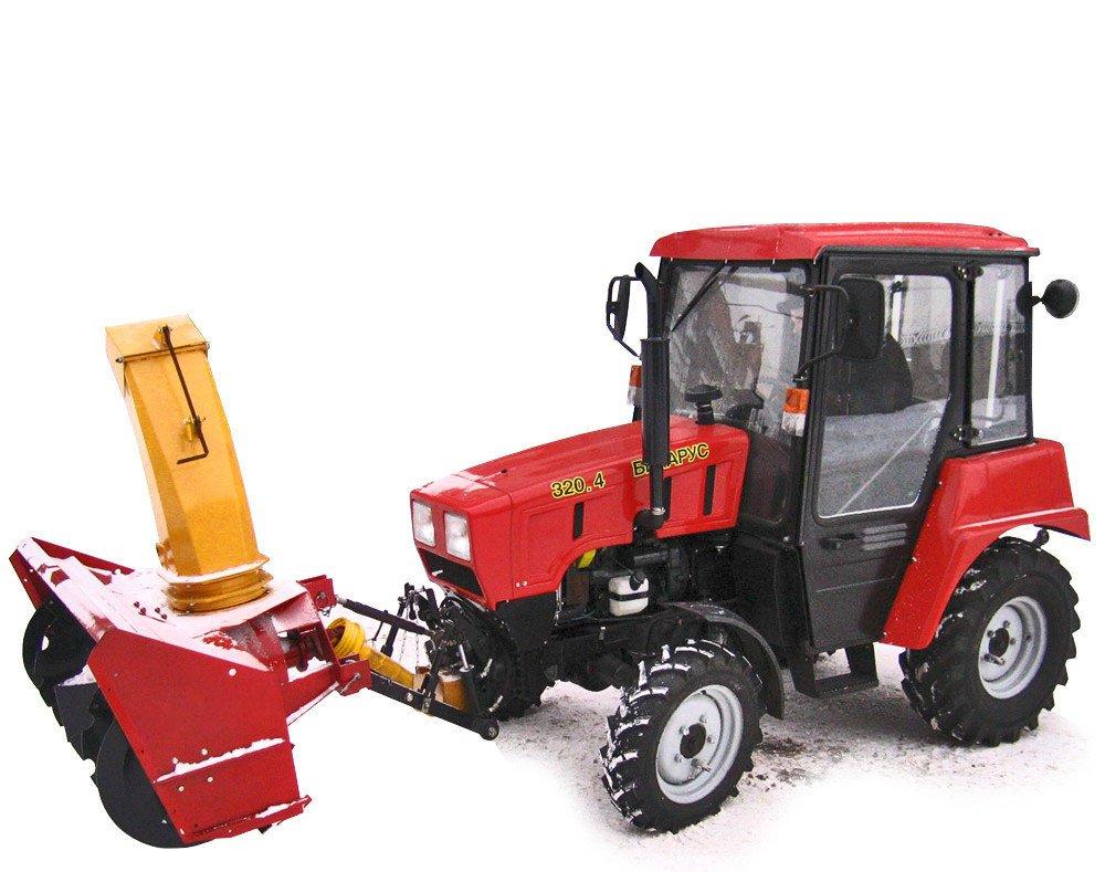 Шнекороторный снегоуборщик СТ-1500