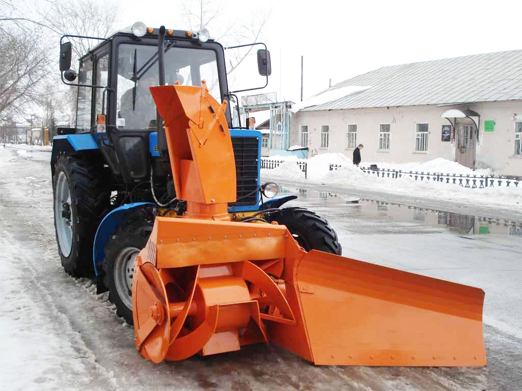 Снегоуборочный агрегат СУ 2.1 ОМ