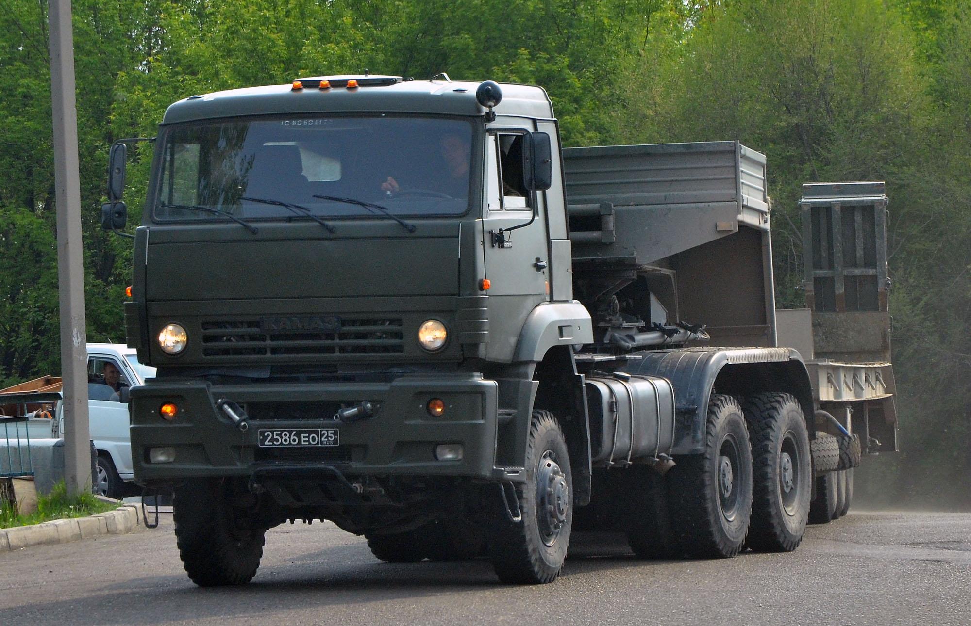 КамАЗ-65225: описание, технические и эксплуатационные характеристики