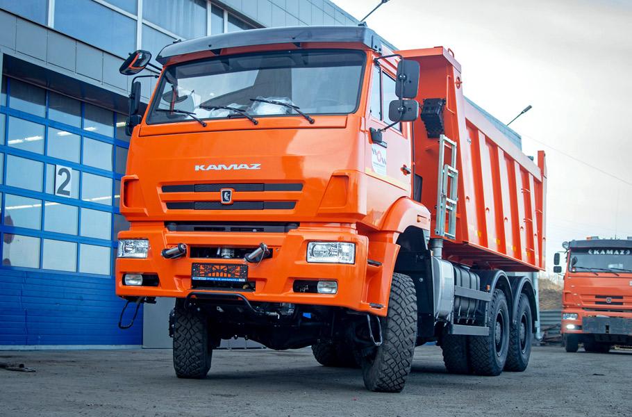 КамАЗ-6522: внешний вид, описание, эксплуатационные и технические характеристики