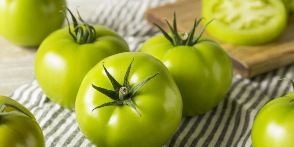 Выращивание с зеленых помидоров